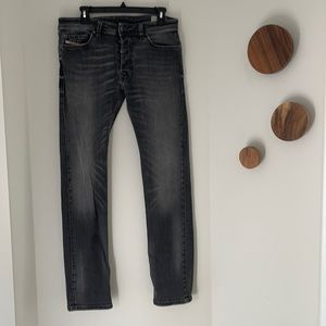 Diesel Grey Safado button fly jeans Size 31/32
